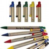 Kugelschreiber Storia rund – aus recycelter Pappe